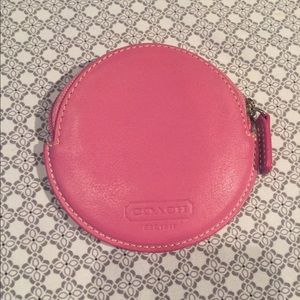 NWOT! Leather Coach Coin Purse